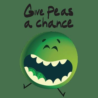 I hate Peas Tshirt