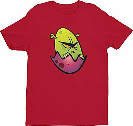 Designer tshirts - Cartoon alien tshirt