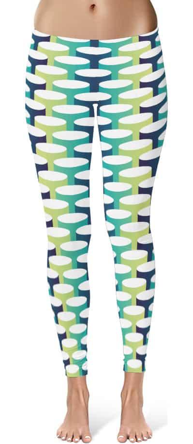 3d tube leggings