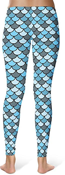 Fish scale Leggings