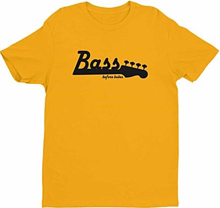 Bass Before Babes - Bass Player Tshirt - Mens
