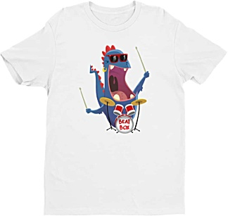 Music Percussion Drummer Tshirt for Men