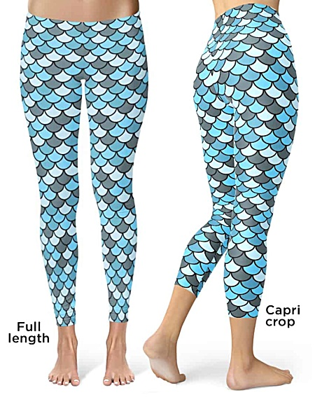 Fish scale Leggings