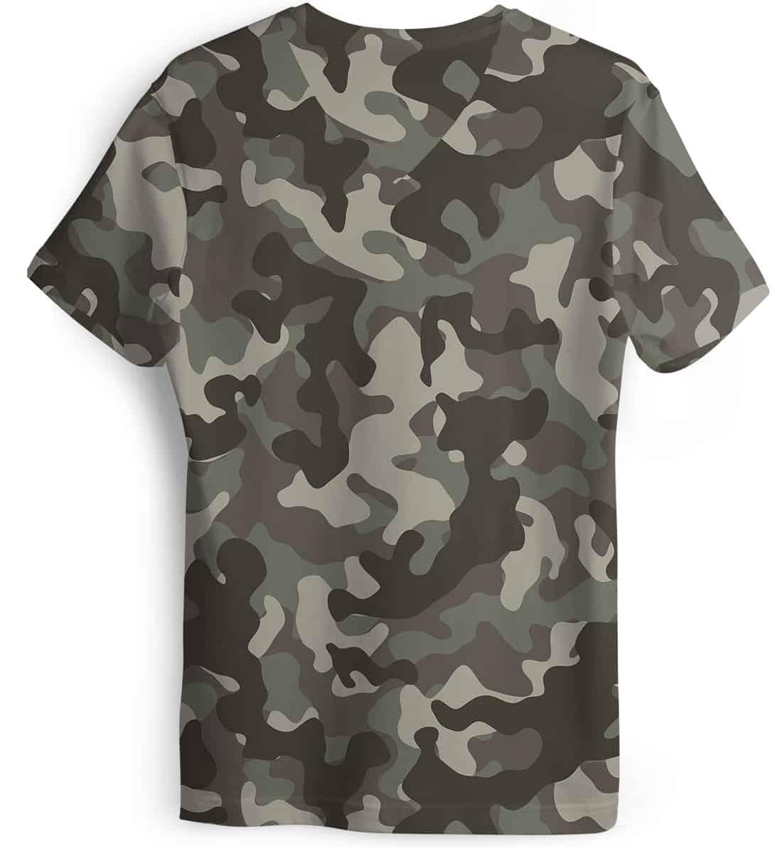 Camouflage deer hunter t shirt women 39 s short sleeve v for Camouflage t shirt design