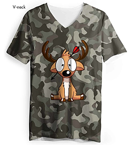 Camouflage t shirt - Bow Hunting Season - Deer Hunter shirt - hunting shirts