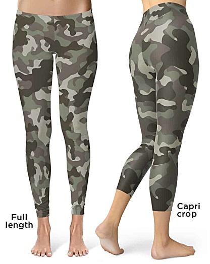 Camo Camouflage Leggings
