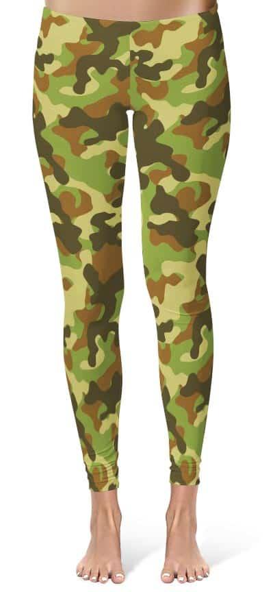 camouflage-leggings