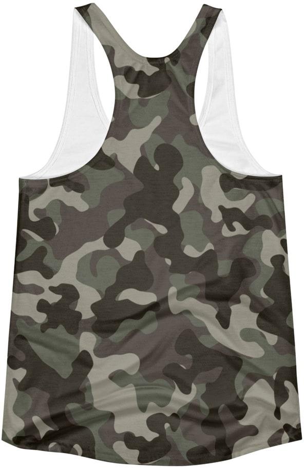 camouflage hunter - dead deer tshirt