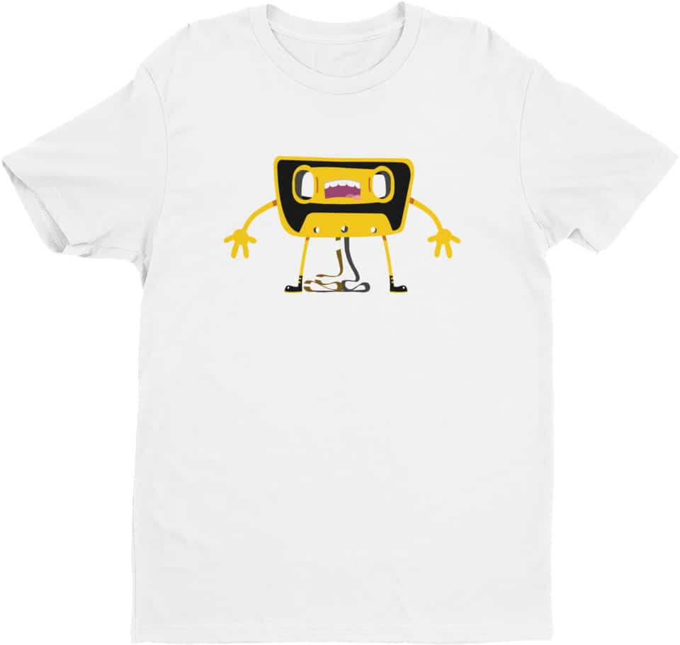 cartoon-retro-casette-tshirt-white