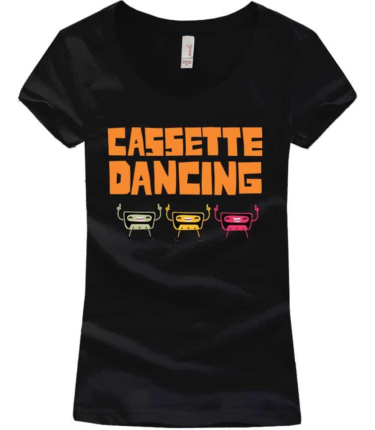 cassette-retro-tshirt-black