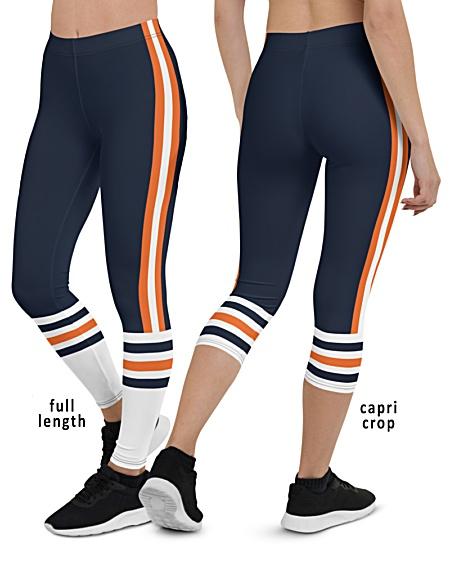 Chicago Bears uniform leggings NFL Football pants