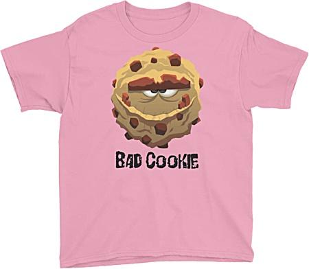 Bad Cookie Monster Kids Tshirt