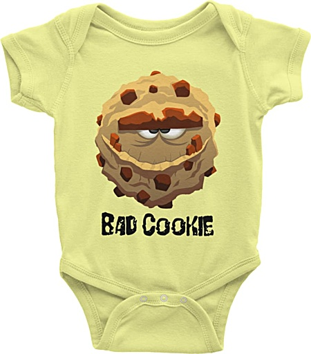 Cookie Monster Baby Onesie