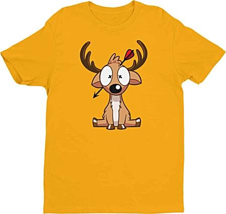 Deer Hunter Tshirt - Tshirts by Squeaky Chimp