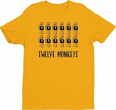 12 twelve monkeys tshirts