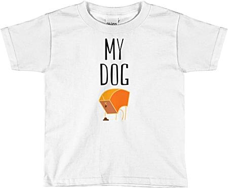 My Dog Poop Children's Kids Tshirt