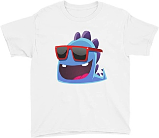 Children's designer fashion - Funky Dragon Tshirt