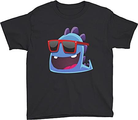 Children's designer fashion - Funky Dragon Tshirt