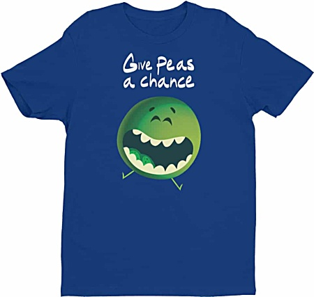 Give Peas A Chance Men's Tshirt