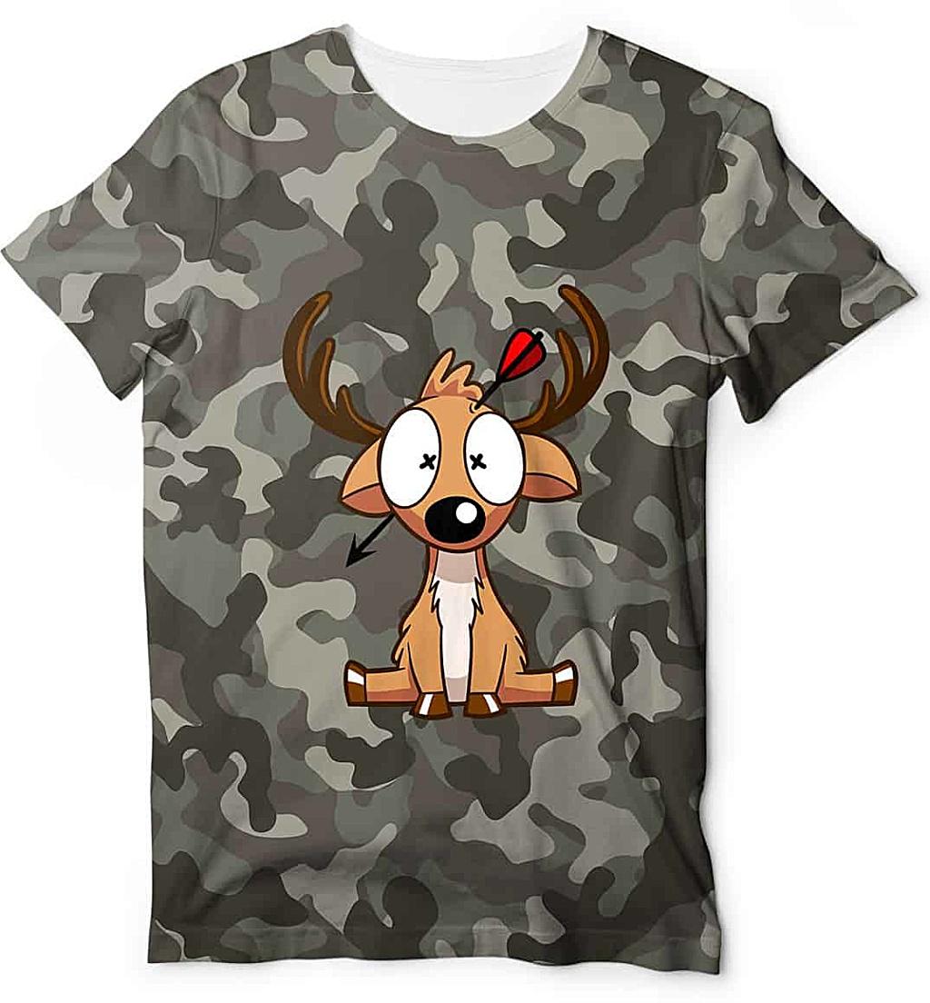 Camouflage t shirt - Bow Hunting Season - Deer Hunter shirt - hunting shirts