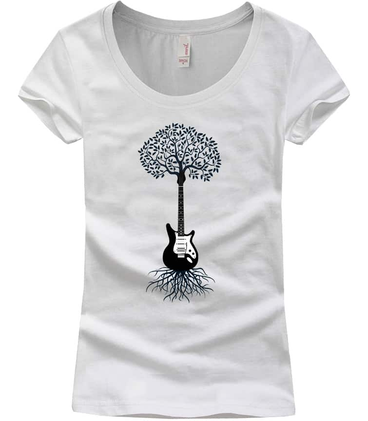 guitar-tshirt-scoopneck-white