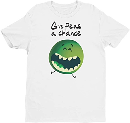 Give Peas A Chance Men's Tshirt
