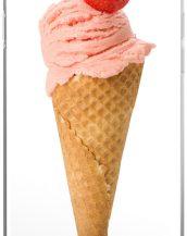 Strawberry Ice Cream Cone iPhone Cover