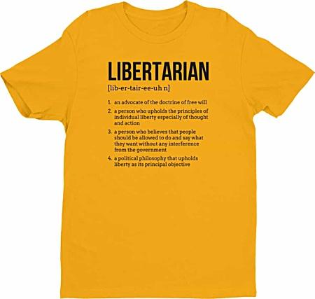 Political Freedom Libertarian Tshirts- Tshirts by Squeaky Chimp