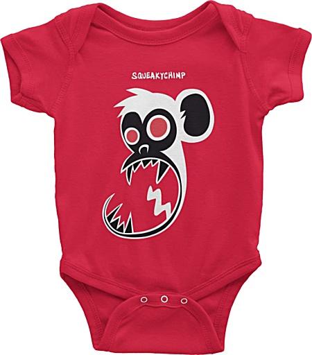 Baby monkey onesie