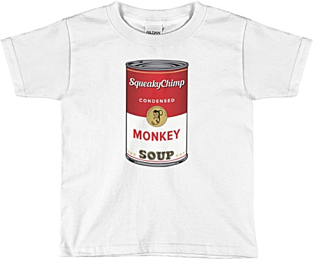 Monkey Soup Kids Tshirt