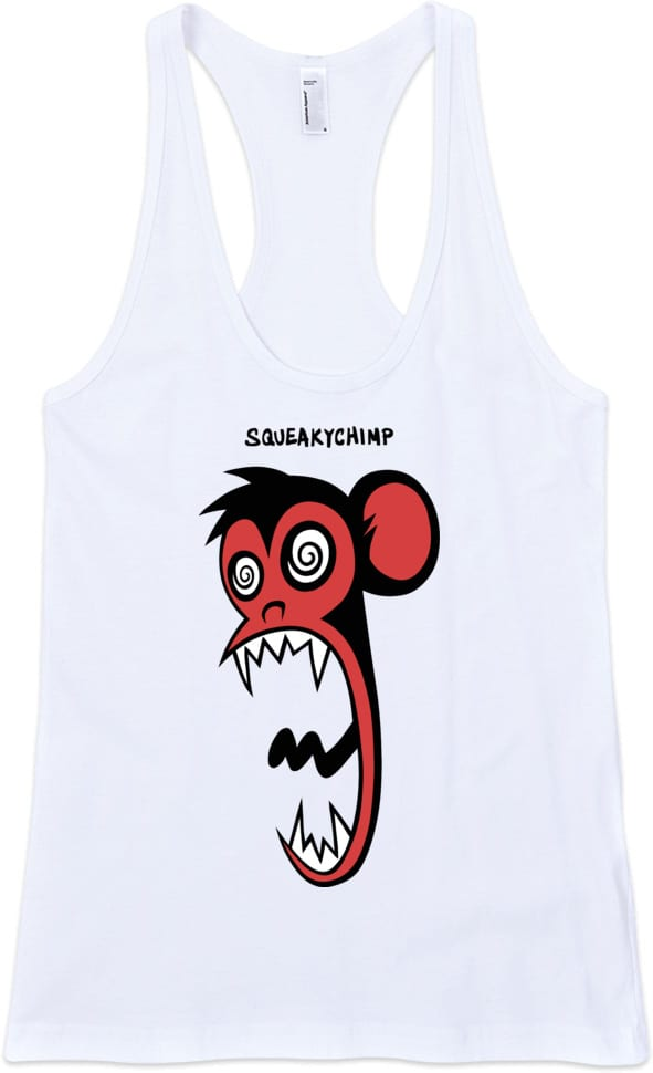 monkey-tshirt-tank-top-white