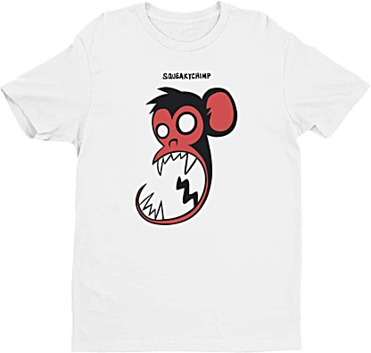 Squeaky Chimp Monkey Tshirts for Men