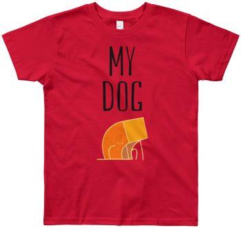 My Dog designer Children's Kids Tshirt
