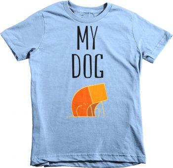 My Dog Children's Kids Tshirt