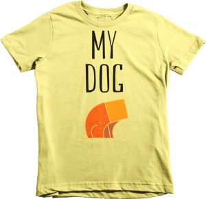 My Dog Children's Kids Tshirt