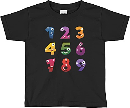 Designer tshirts for children