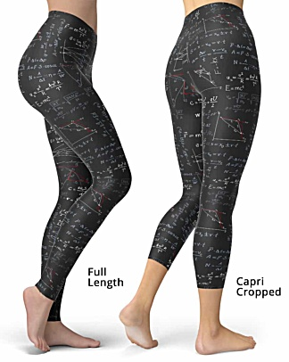 Physics Formula Leggings