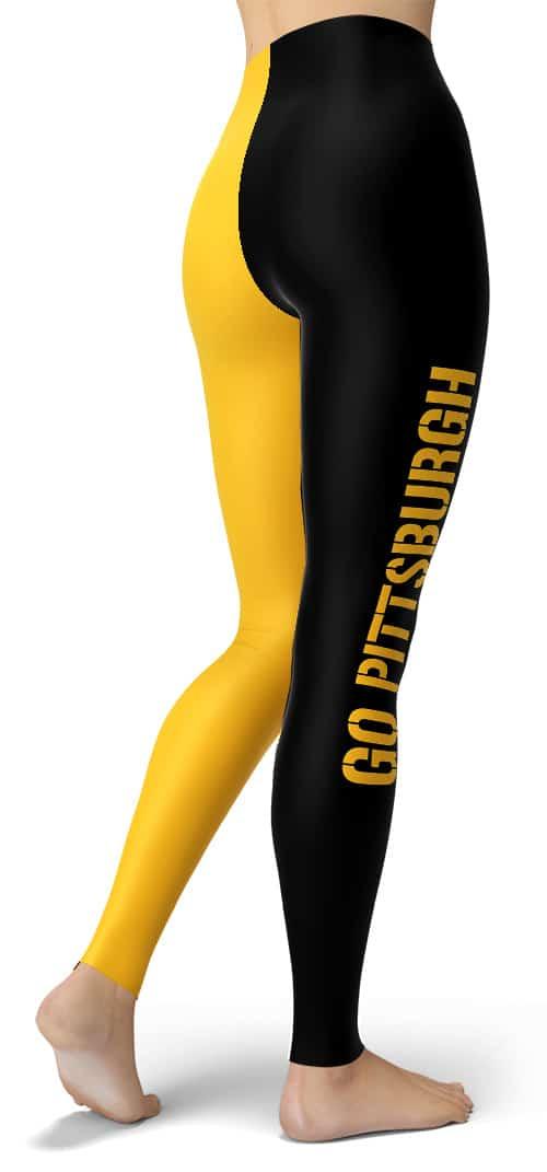 Pittsburgh NFL Football Leggings