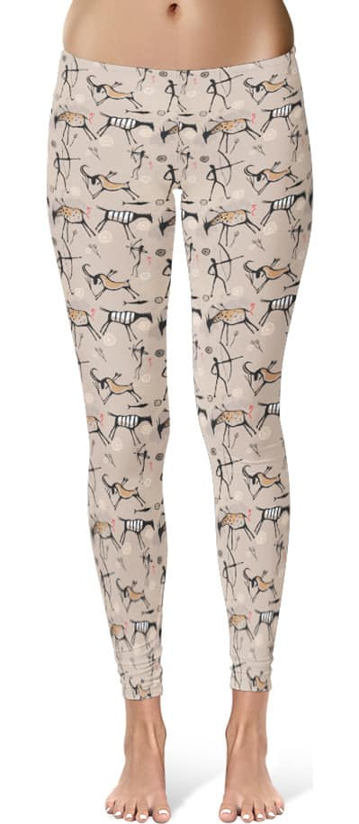 prehistoric-painting-leggings