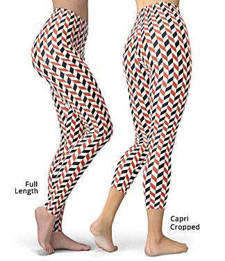 Zig Zag Designer Leggings