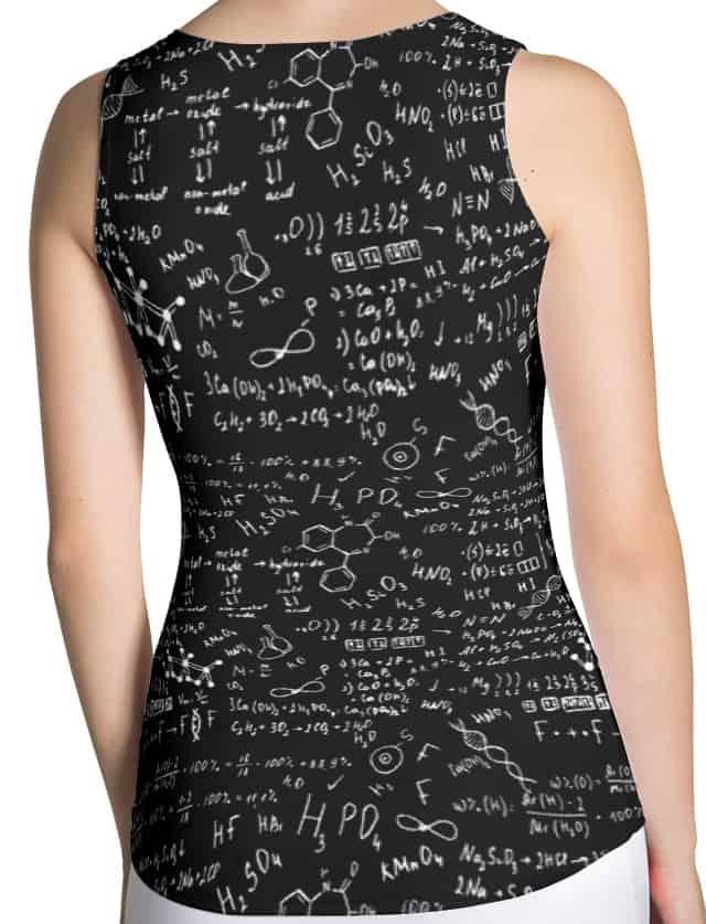 Scientific Chemical Formula Tank Top
