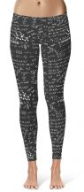 Science Chemical Formula Leggings