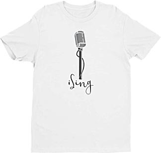 Lead Singer tshirt - Music Tshirt - men's tee