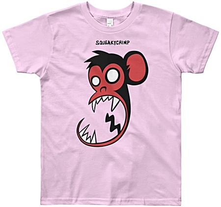 Monkey Kids Funny T-shirts - youth size monkey tee