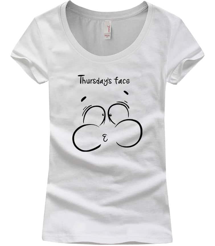 thursday-face-scoop-neck-tshirt-white