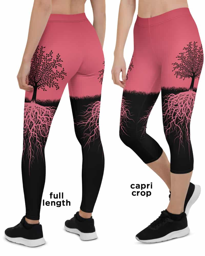 6851aefc091264 Tree of Life Leggings - Designed By Squeaky Chimp Tshirts & Leggings