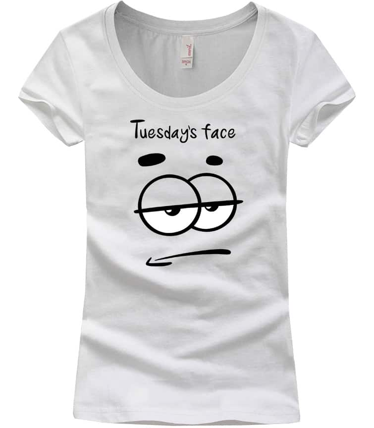 tuesday-face-scoop-neck-tshirt-white