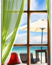 Window Seal Beach iPhone Cover