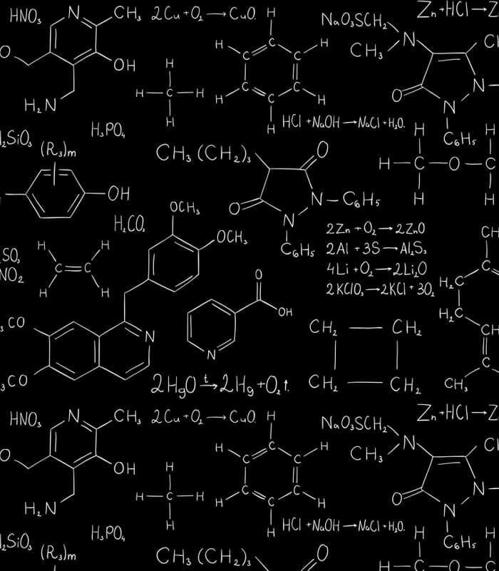 Chemistry Formula & Equation Tank Top