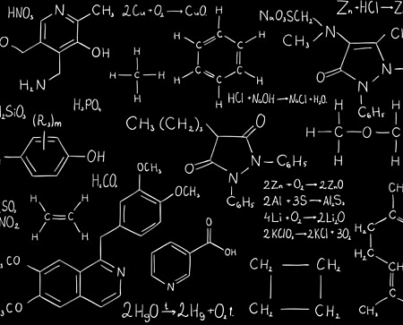 Chemistry formula leggings - Gifts for science geeks
